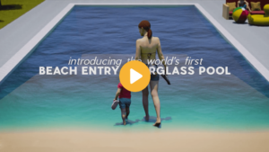 Beach Entry with Play